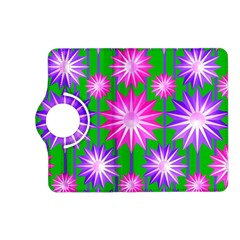 Stars Patterns Christmas Background Seamless Kindle Fire Hd (2013) Flip 360 Case