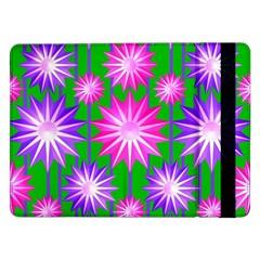 Stars Patterns Christmas Background Seamless Samsung Galaxy Tab Pro 12.2  Flip Case