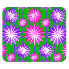 Stars Patterns Christmas Background Seamless Double Sided Flano Blanket (Small)
