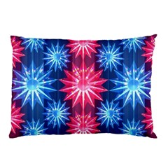 Stars Patterns Christmas Background Seamless Pillow Case