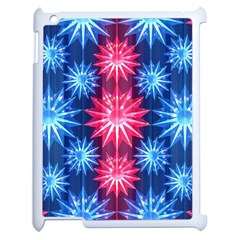 Stars Patterns Christmas Background Seamless Apple Ipad 2 Case (white)
