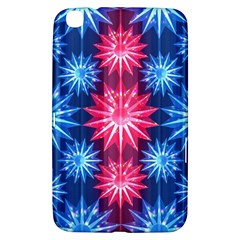 Stars Patterns Christmas Background Seamless Samsung Galaxy Tab 3 (8 ) T3100 Hardshell Case