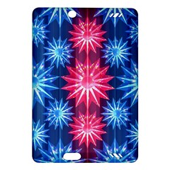 Stars Patterns Christmas Background Seamless Amazon Kindle Fire Hd (2013) Hardshell Case