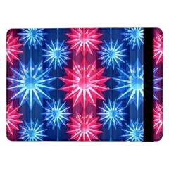 Stars Patterns Christmas Background Seamless Samsung Galaxy Tab Pro 12 2  Flip Case
