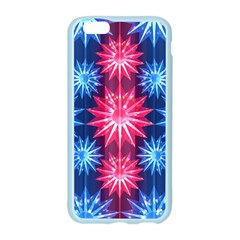 Stars Patterns Christmas Background Seamless Apple Seamless iPhone 6/6S Case (Color)