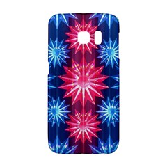 Stars Patterns Christmas Background Seamless Galaxy S6 Edge