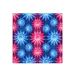 Stars Patterns Christmas Background Seamless Satin Bandana Scarf