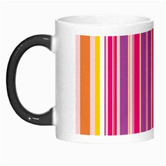 Stripes Colorful Background Pattern Morph Mugs