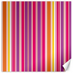 Stripes Colorful Background Pattern Canvas 16  x 16