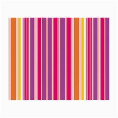 Stripes Colorful Background Pattern Small Glasses Cloth (2-Side)