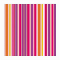 Stripes Colorful Background Pattern Medium Glasses Cloth (2-Side)