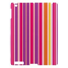 Stripes Colorful Background Pattern Apple iPad 3/4 Hardshell Case