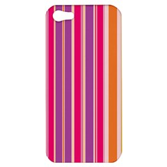Stripes Colorful Background Pattern Apple Iphone 5 Hardshell Case