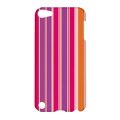 Stripes Colorful Background Pattern Apple Ipod Touch 5 Hardshell Case