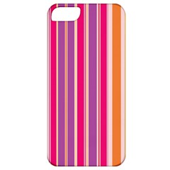 Stripes Colorful Background Pattern Apple Iphone 5 Classic Hardshell Case