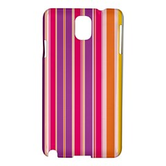 Stripes Colorful Background Pattern Samsung Galaxy Note 3 N9005 Hardshell Case