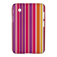 Stripes Colorful Background Pattern Samsung Galaxy Tab 2 (7 ) P3100 Hardshell Case