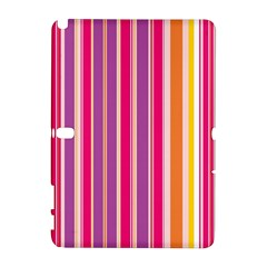 Stripes Colorful Background Pattern Galaxy Note 1