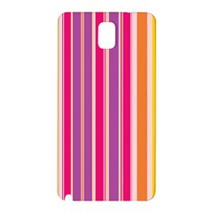 Stripes Colorful Background Pattern Samsung Galaxy Note 3 N9005 Hardshell Back Case