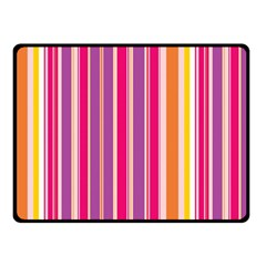 Stripes Colorful Background Pattern Double Sided Fleece Blanket (small)