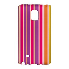Stripes Colorful Background Pattern Galaxy Note Edge
