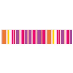 Stripes Colorful Background Pattern Flano Scarf (small)