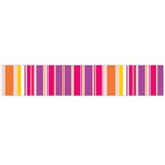 Stripes Colorful Background Pattern Flano Scarf (large)