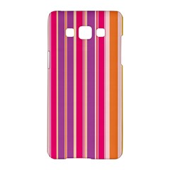 Stripes Colorful Background Pattern Samsung Galaxy A5 Hardshell Case