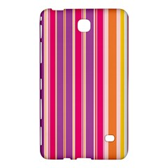 Stripes Colorful Background Pattern Samsung Galaxy Tab 4 (7 ) Hardshell Case