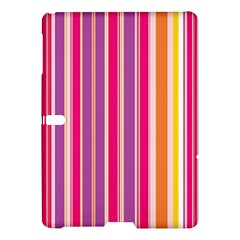 Stripes Colorful Background Pattern Samsung Galaxy Tab S (10.5 ) Hardshell Case