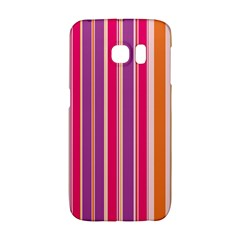 Stripes Colorful Background Pattern Galaxy S6 Edge