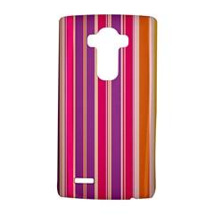 Stripes Colorful Background Pattern Lg G4 Hardshell Case