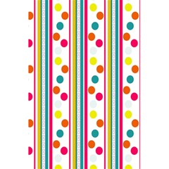 Stripes Polka Dots Pattern 5.5  x 8.5  Notebooks