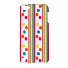 Stripes Polka Dots Pattern Apple Ipod Touch 5 Hardshell Case
