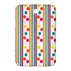 Stripes Polka Dots Pattern Samsung Galaxy Note 8.0 N5100 Hardshell Case