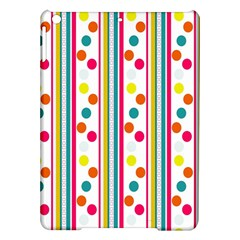 Stripes Polka Dots Pattern Ipad Air Hardshell Cases