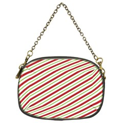 Stripes Striped Design Pattern Chain Purses (Two Sides)