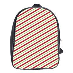 Stripes Striped Design Pattern School Bags(Large)