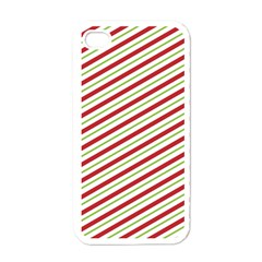 Stripes Striped Design Pattern Apple Iphone 4 Case (white)