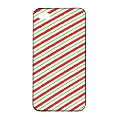 Stripes Striped Design Pattern Apple Iphone 4/4s Seamless Case (black)