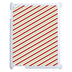 Stripes Striped Design Pattern Apple Ipad 2 Case (white)
