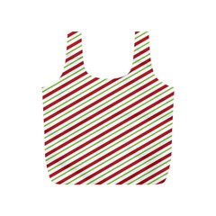 Stripes Striped Design Pattern Full Print Recycle Bags (s)