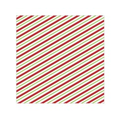 Stripes Striped Design Pattern Small Satin Scarf (square)