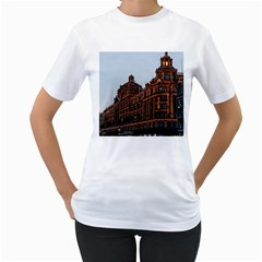 Store Harrods London Women s T-Shirt (White) (Two Sided)
