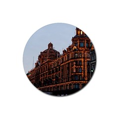 Store Harrods London Rubber Round Coaster (4 pack)