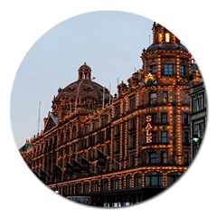 Store Harrods London Magnet 5  (round)