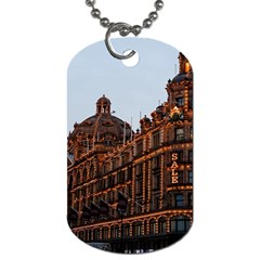Store Harrods London Dog Tag (Two Sides)