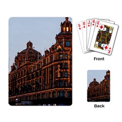Store Harrods London Playing Card
