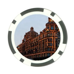 Store Harrods London Poker Chip Card Guard (10 Pack)