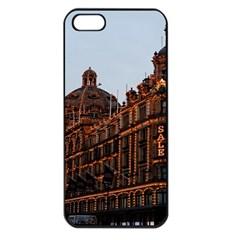 Store Harrods London Apple Iphone 5 Seamless Case (black)